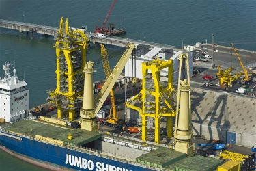 Pipe laying systems dsmes harbour