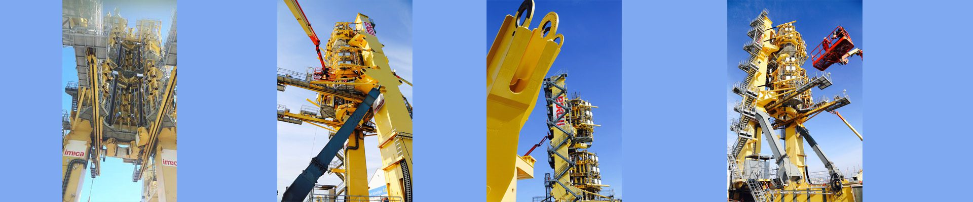 Pipe lay towers