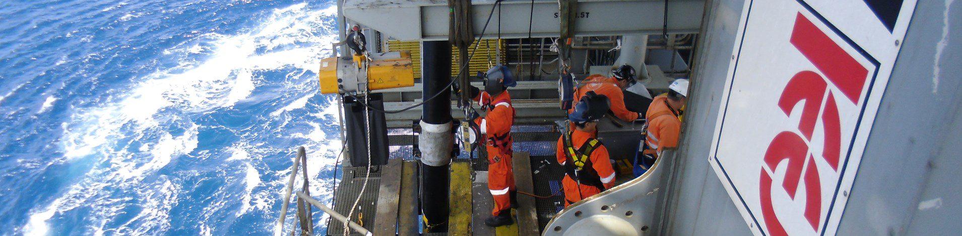 Offshore maintenance activity